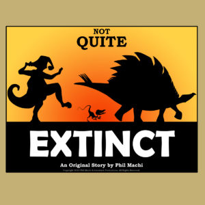 """Not Quite Extinct"" Silhouette Print"