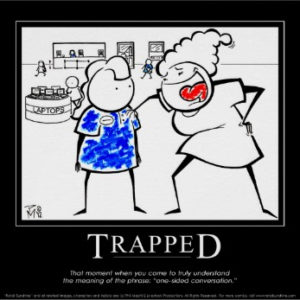 """Trapped"" Demotivational 'Retail Sunshine' Poster"