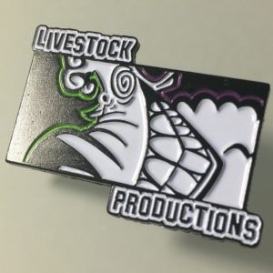 Livestock Productions Logo Pin
