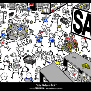 "'The Sales Floor' Poster from ""Orientation"""