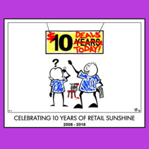 Retail Sunshine 10 Year Print